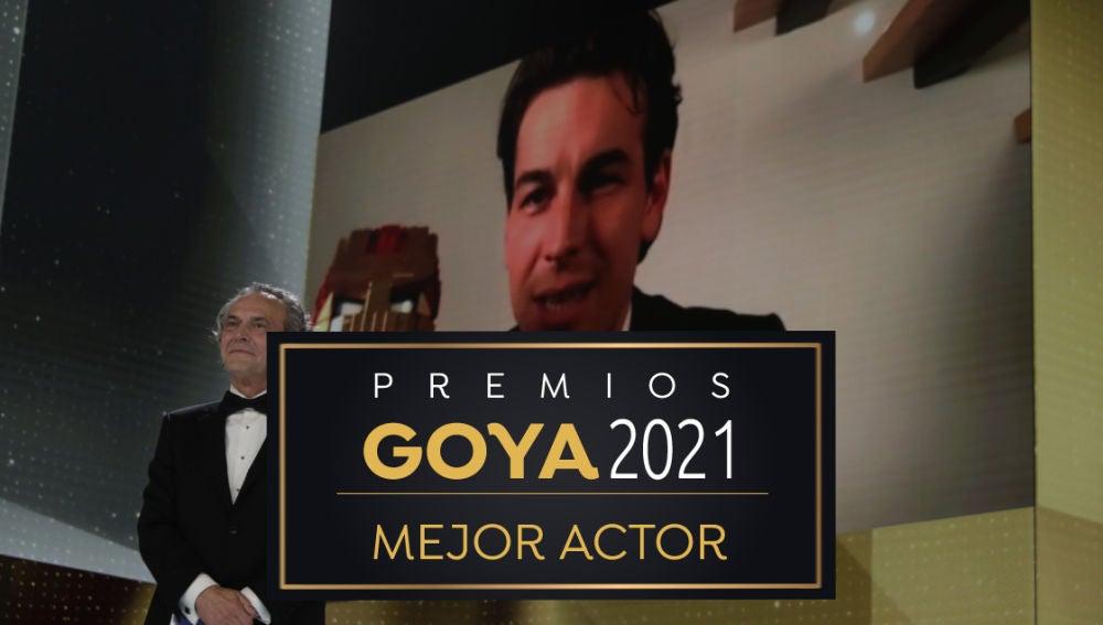 Mario Casas, Mejor actor protagonista en los Premios Goya 2021
