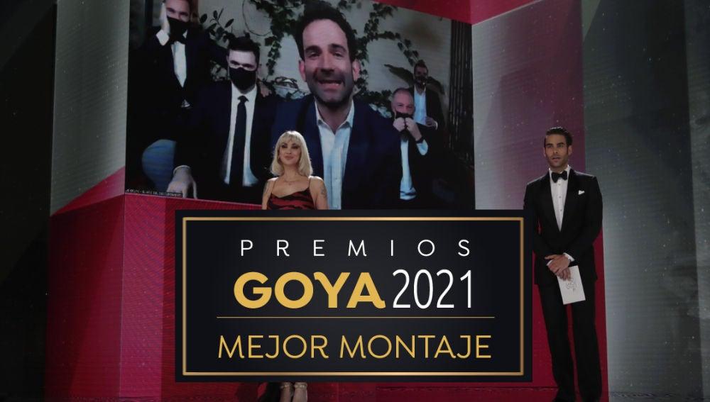 Premios Goya 2021: Sergio Jiménez, mejor montaje por 'El año del descubrimiento'