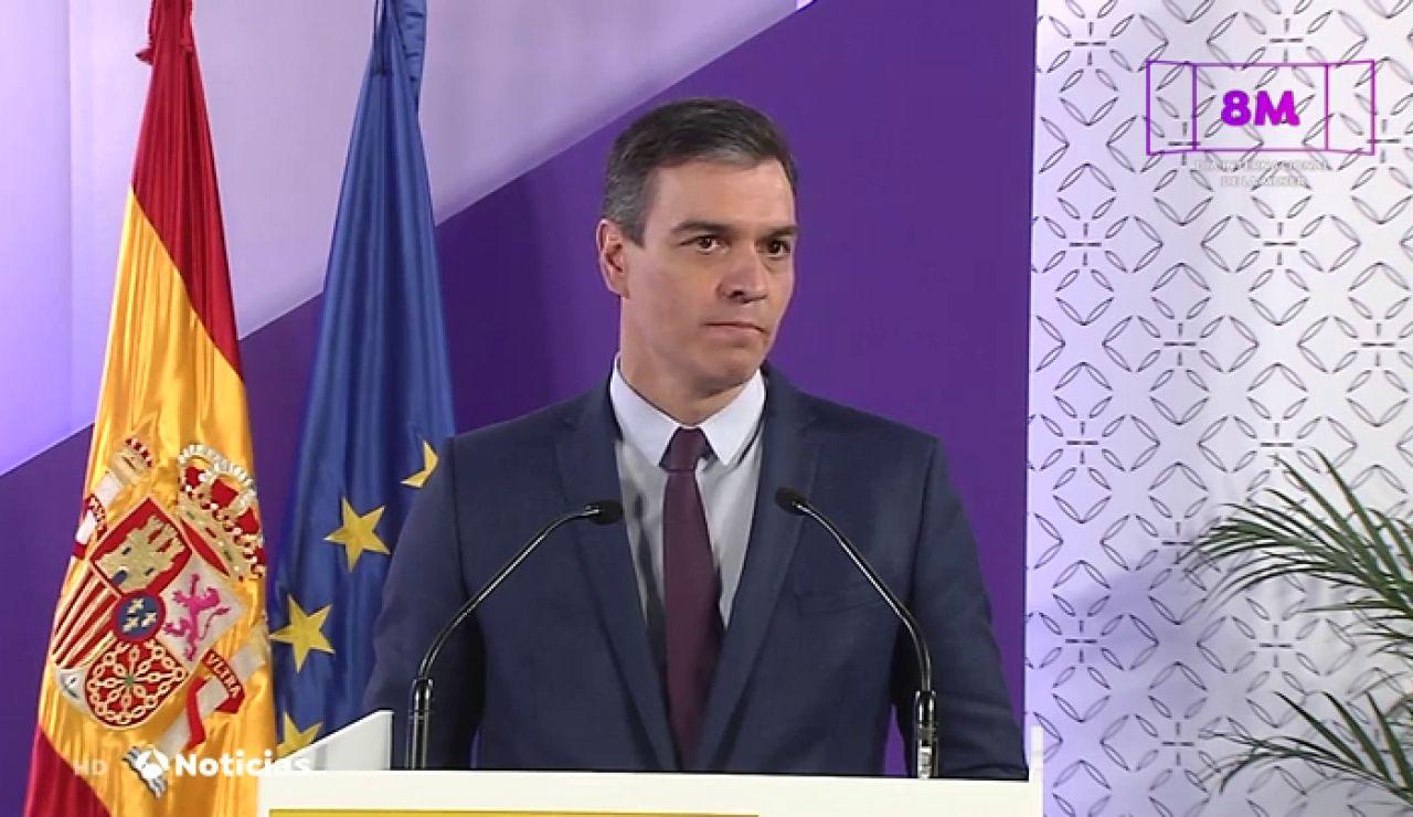 """Pedro Sánchez se refiere al caso 'Nevenka' y asegura que """"la ley del solo sí es sí se aprobará dentro de poco"""""""