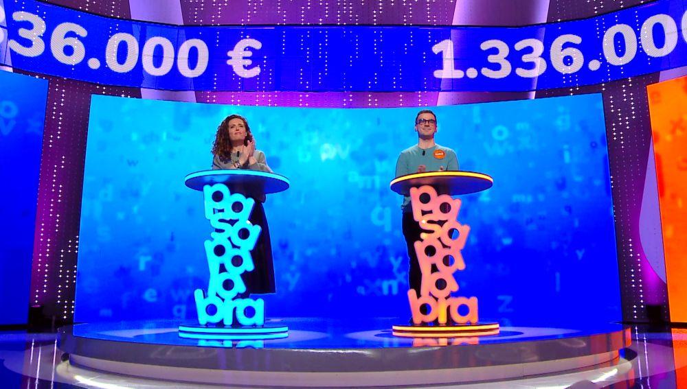 Marta, 'obligada' a jugársela en los últimos segundos de 'El Rosco'