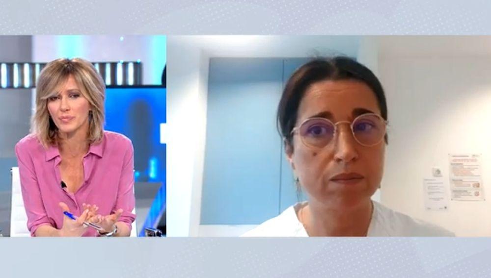 Luisa González, vicepresidenta del Colegio de Médicos de Madrid