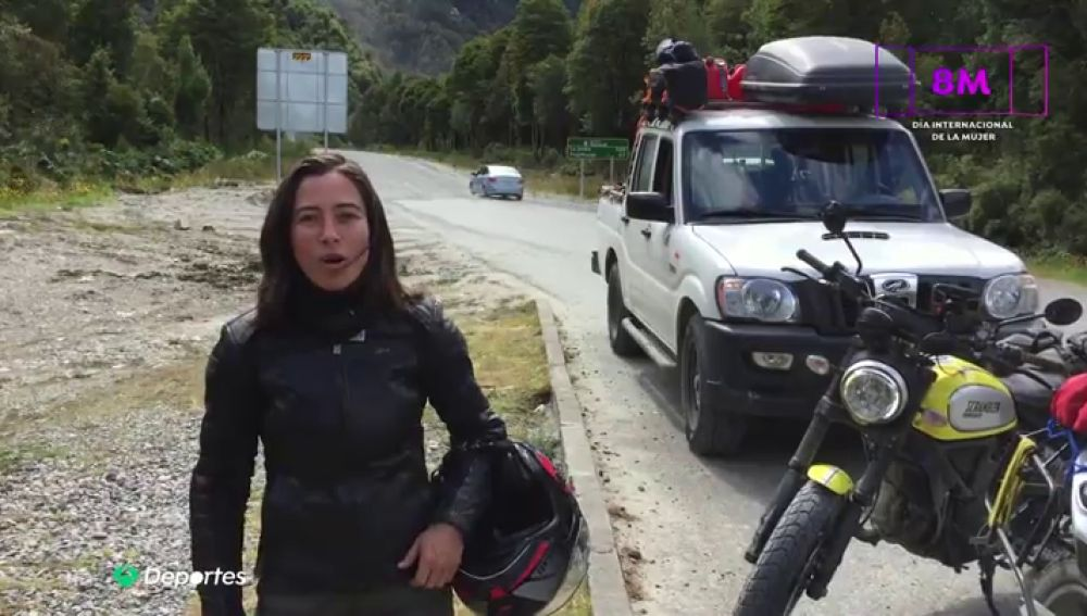 'Toda aventura comienza con un sí', la historia de la primera mujer hispana en dar la vuelta al mundo