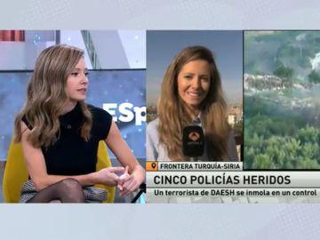 Pilar Cebrián, reportera de guerra en Oriente Medio
