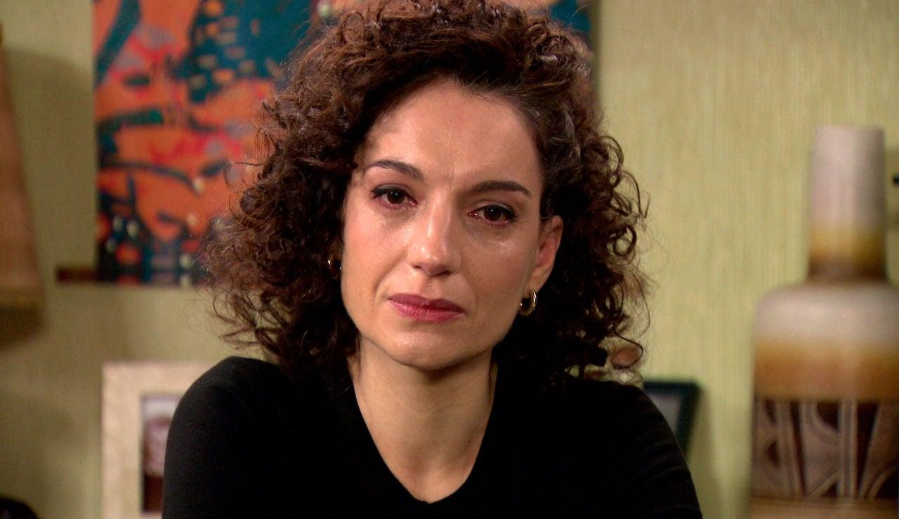 Estefanía se rompe al descubrir la emotiva despedida que Miguel dejó antes de morir