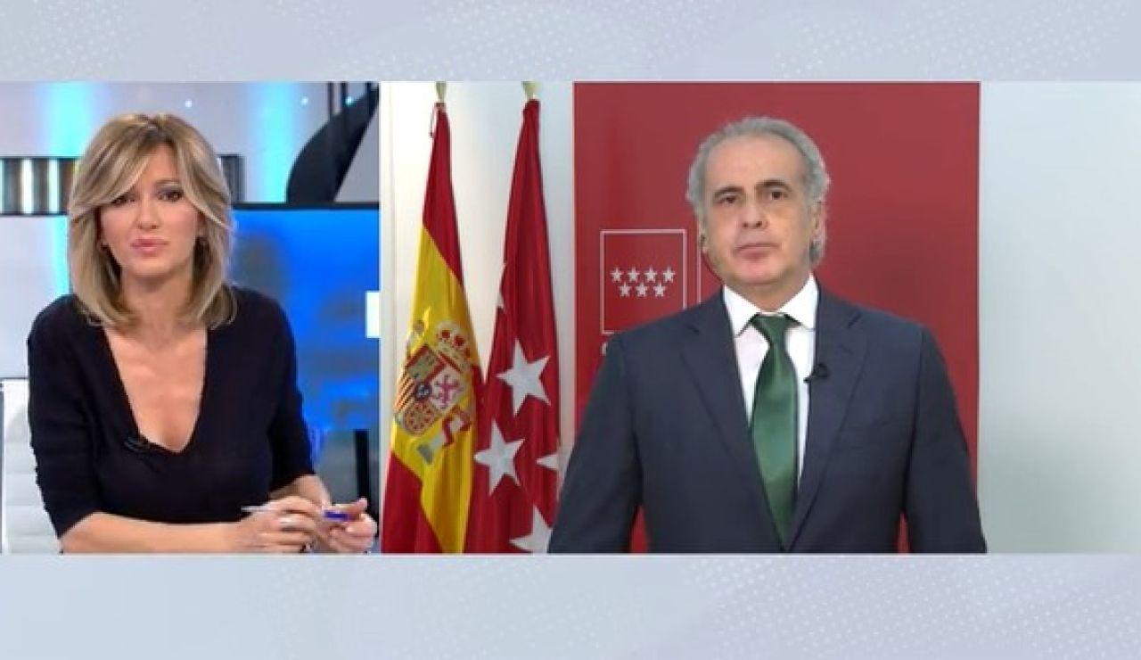 Madrid se opone al cierre perimetral.