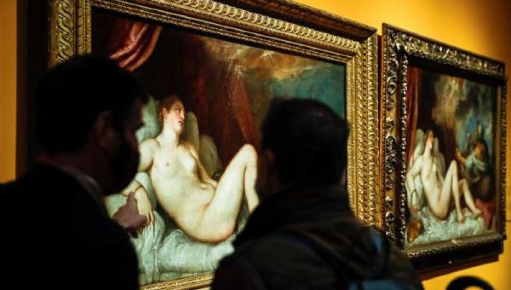 'Dánae, Venus y Adonis' y 'Dánae recibiendo la lluvia de oro'