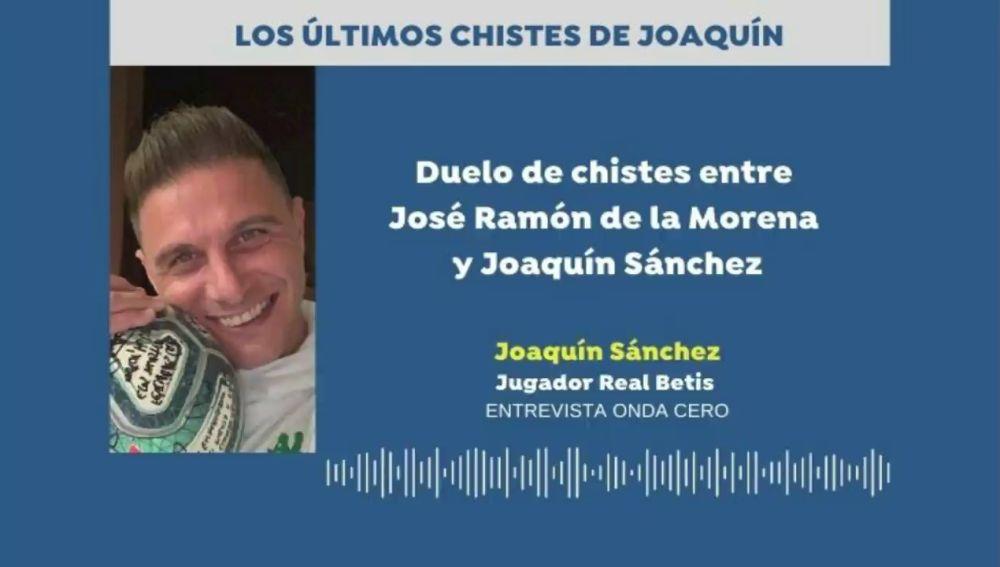 """Los últimos chistes de Joaquín: """"Manolo, ¿tú cómo sabes que mis tetas son operadas?"""""""