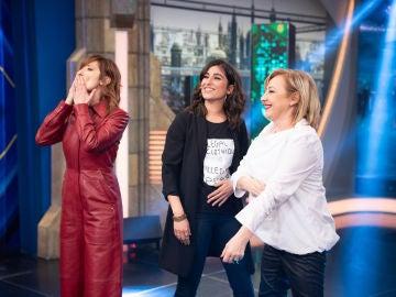 Revive la entrevista completa de Carmen Machi, Nathalie Poza y Carolina Yuste en 'El Hormiguero 3.0'