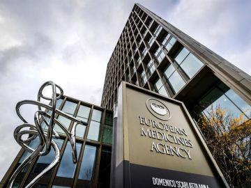 Sede de la Agencia Europea del Medicamento (EMA) en Amsterdam, Paises Bajos.