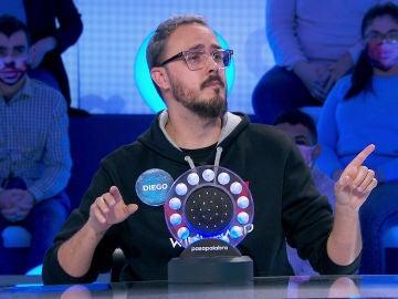 Diego Arjona pone una reclamación a 'Pasapalabra' antes de comenzar su duelo en 'La Pista'
