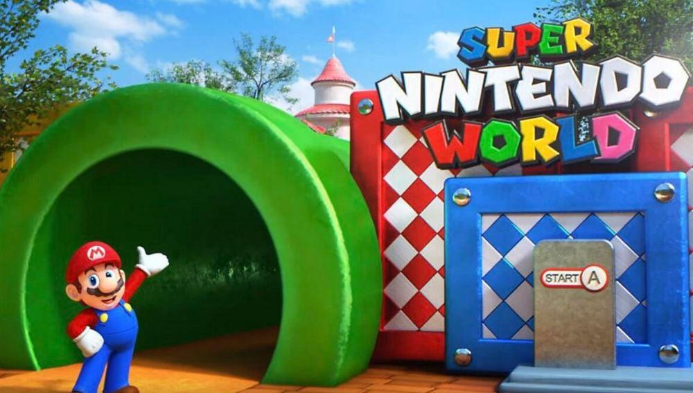 Parque de atracciones Nintendo