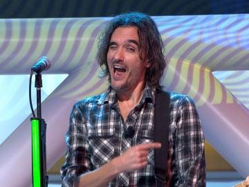 """Jorge Fernández elogia a la banda tras una difícil canción: """"¡Cómo moláis!"""""""