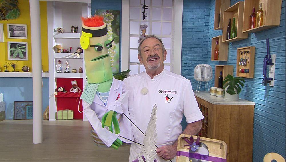 ¿A quién ha dedicado Karlos Arguiñano las recetas de hoy?