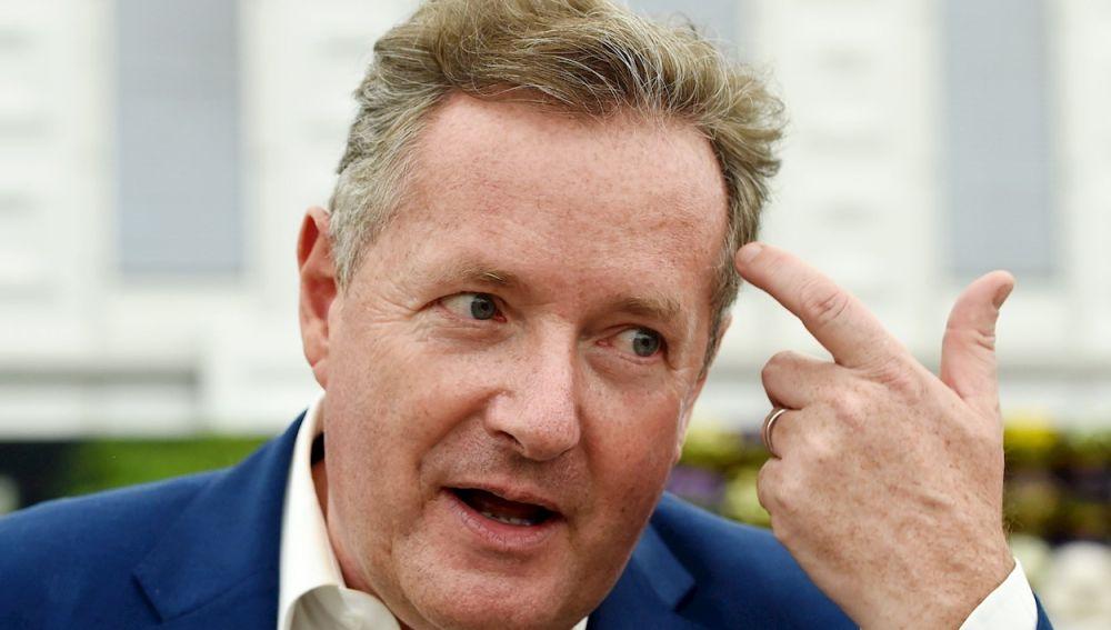 El presentador británico Piers Morgan