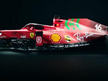 Así es el nuevo coche de Carlos Sainz: Características, colores y todo lo que debes saber del Ferrari SF21