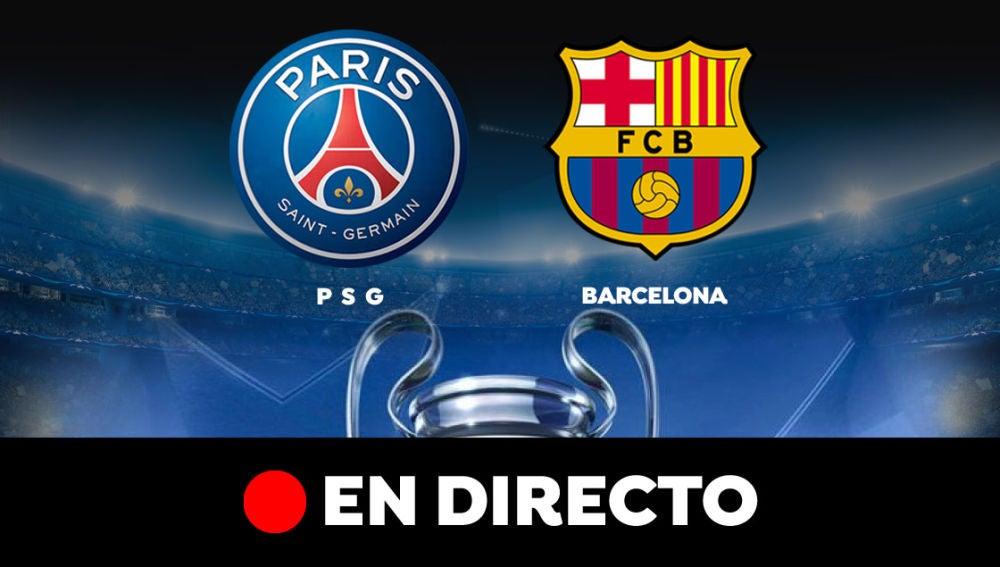 PSG - Barcelona: Resultado y goles del partido de hoy, en directo | Champions League