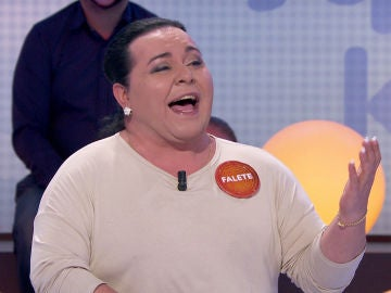Falete emociona en 'Pasapalabra' cantando una bonita versión de 'Te quiero, te quiero', de Nino Bravo