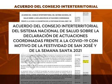 Borrador de propuestas de Sanidad para el Consejo Interterritorial de Salud
