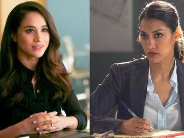 Meghan Markle en 'Suits' y Janina Gavankar en 'Arrow'