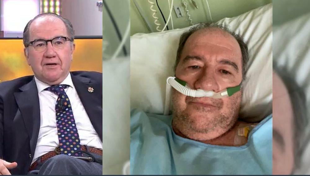 El doctor José Carlos Fuertes tras sufrir coronavirus