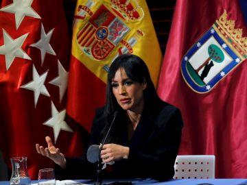 """Elecciones Madrid 2021: Begoña Villacís asegura que Madrid será """"menos segura"""" para las mujeres con Pablo Iglesias"""