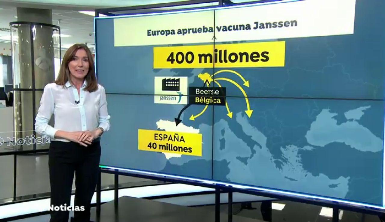 La Unión Europea aprueba la vacuna de Janssen, la primera de una sola dosis