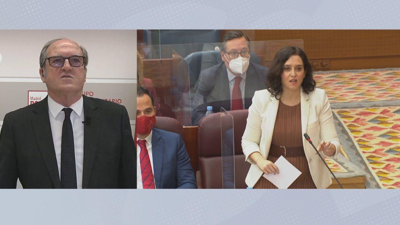 """Ángel Gabilondo: """"No entiendo las razones por las que Isabel Díaz Ayuso ha convocado elecciones en este momento"""""""