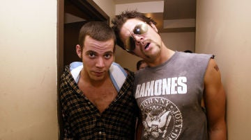 Johnny Knoxville y Steve-O