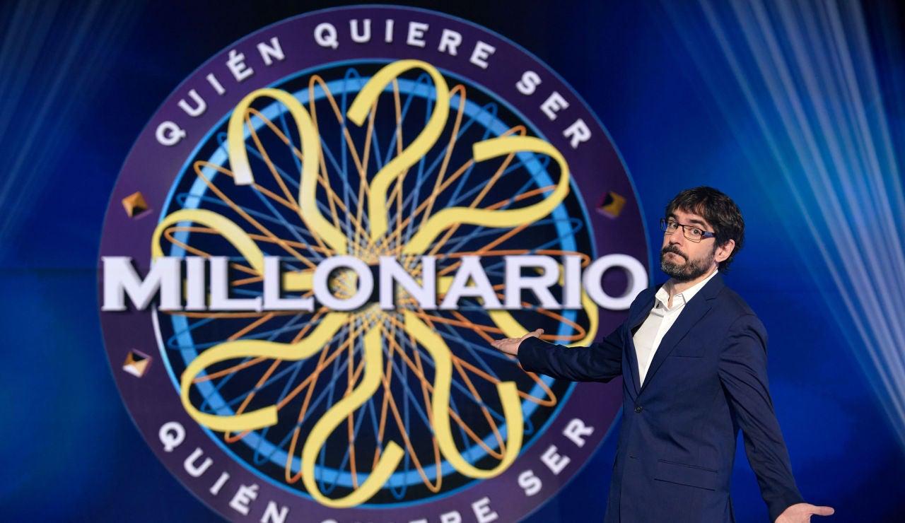 """Juanra Bonet, de nuevo al frente de '¿Quién quiere ser millonario?': """"Por contrato no puedo mover los músculos de la cara"""""""