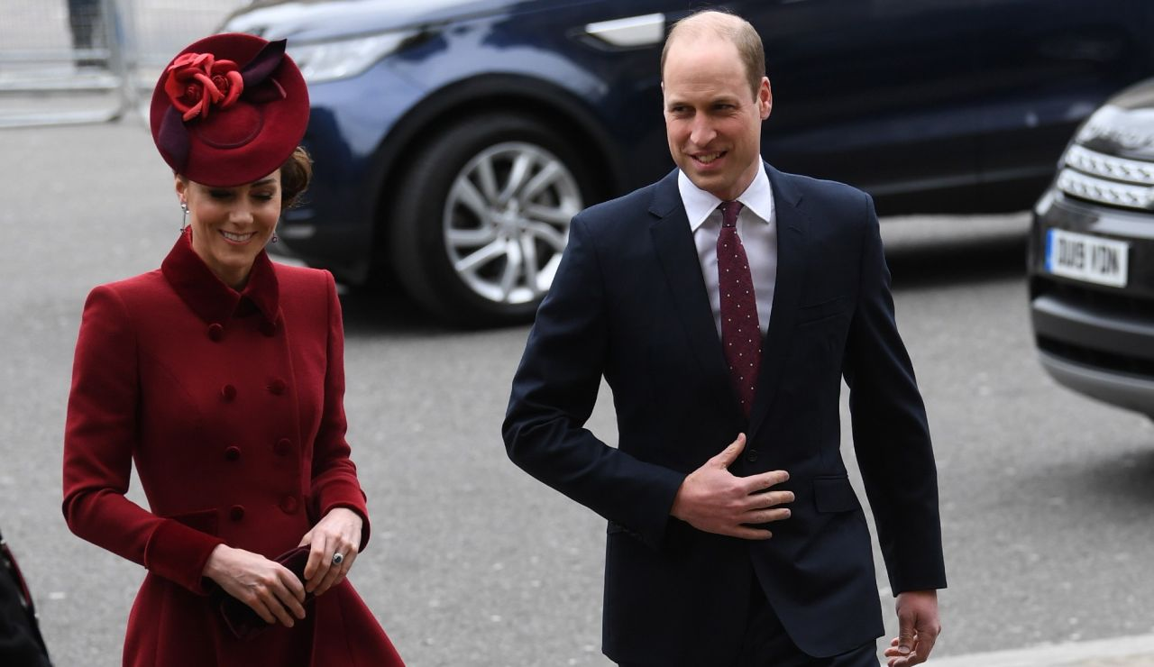 El príncipe William y Kate Middleton, en una imagen de archivo.