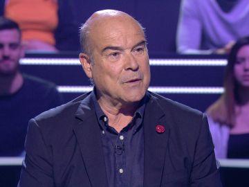 """Antonio Resines, eliminado sin usar dos comodines: """"No se puede ser tan chulo"""""""