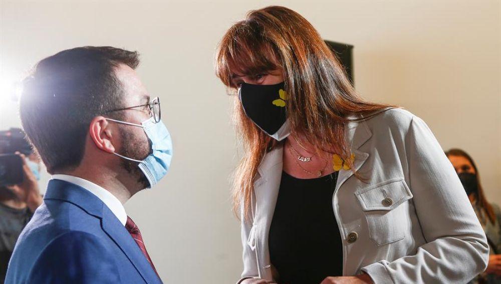 Laura Borràs, investigada por corrupción, posible presidenta de un Parlament de Cataluña en el que debuta Vox