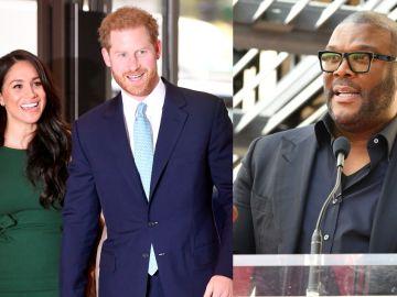 Meghan Markle, el príncipe Harry y Tyler Perry