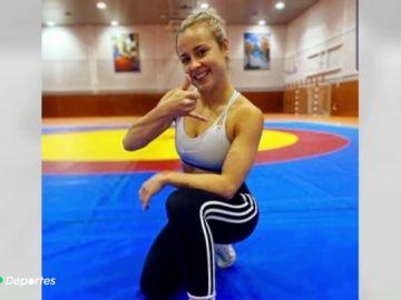 "La impactante batalla de la luchadora Aintzane Gorria contra la bulimia: ""Te avergüenzas de tenerla"""