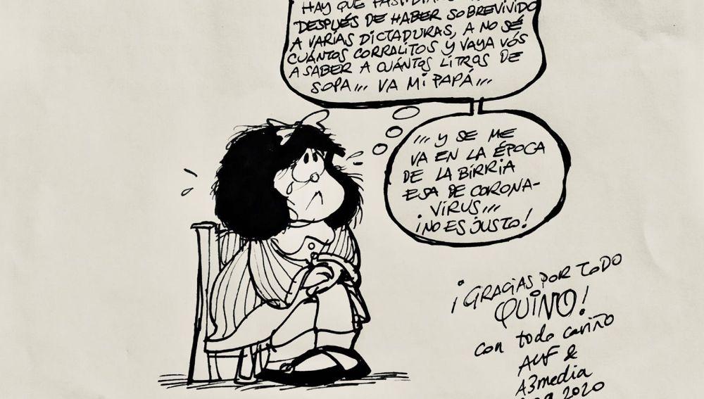 Efemérides de hoy 15 de marzo de 2021: Quino crea Mafalda