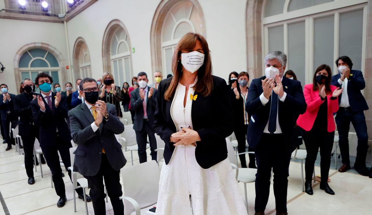 Laura Borràs, presidenta del Parlament catalán