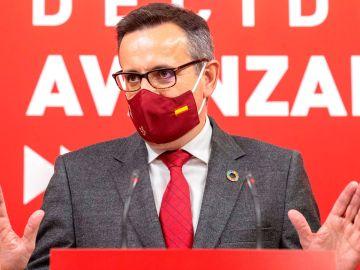 El secretario general del PSOE en Murcia, Diego Conesa.