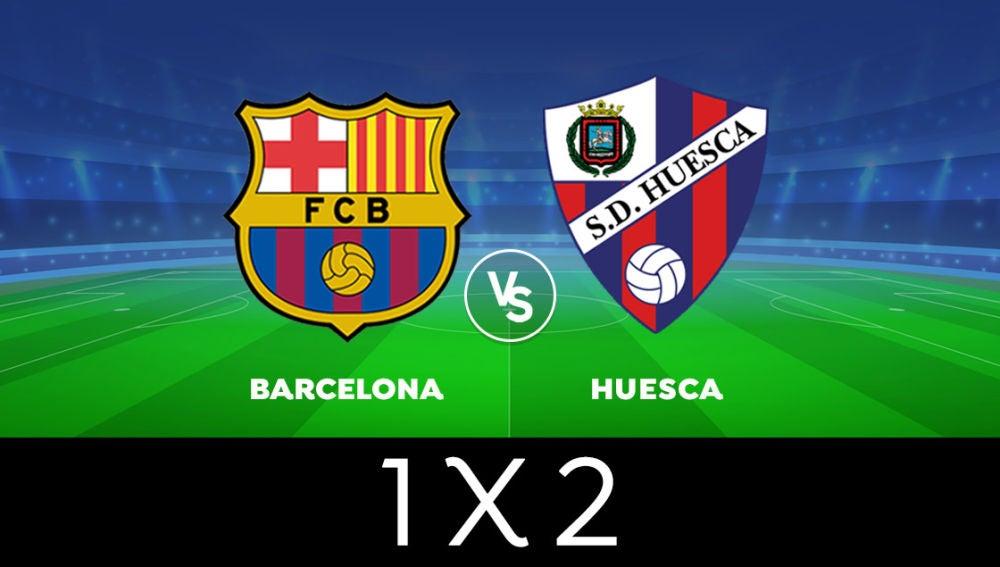 VOTA: ¿Quién ganará el Barcelona - Huesca de Liga Santander?
