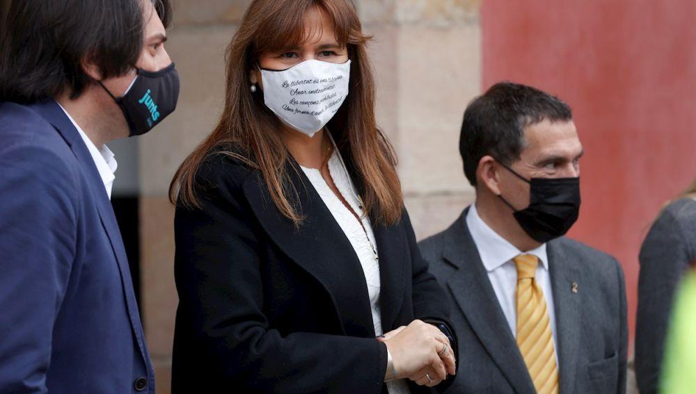 La diputada de JxCat y nueva presidenta de la cámara catalana