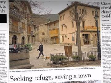 Gósol, el pueblo catalán de 200 habitantes que protagoniza la última portada del 'The New York Times'