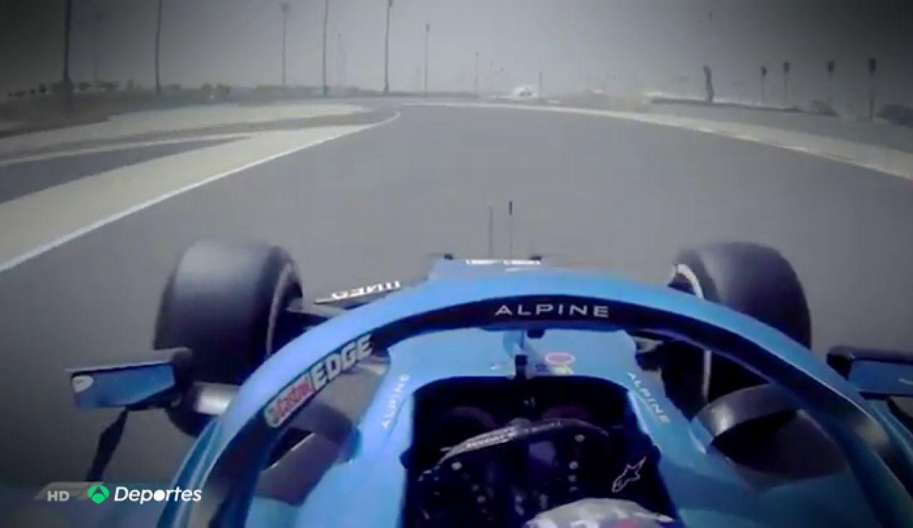 Fernando Alonso termina segundo en el test de Bahréin en su regreso a la F1