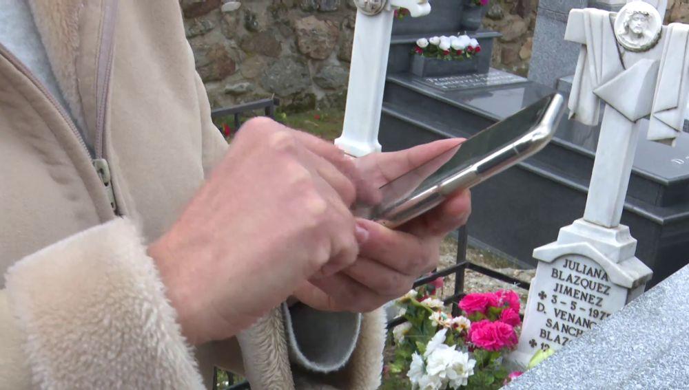 cobertura en cementerio