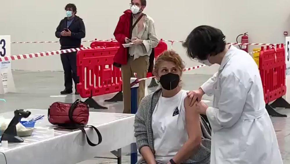 Así avanza el ritmo de vacunación en España