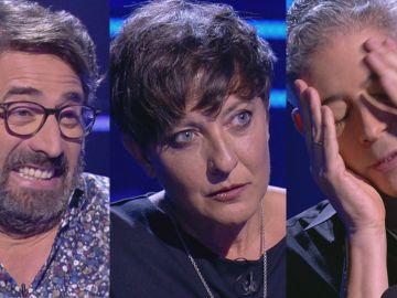 Eva Hache, Boris Izaguirre y Antonio Garrido, concursantes de '¿Quién quiere ser millonario?'