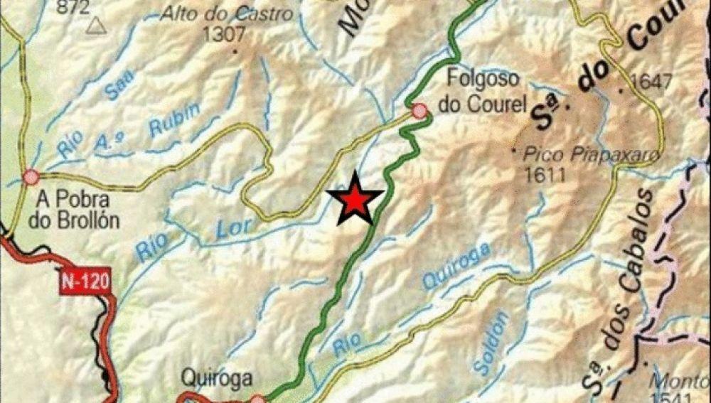 Terremoto de 3,5 de magnitud en Lugo