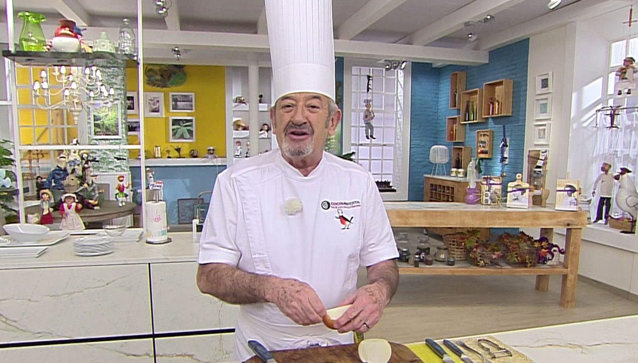 Karlos Arguiñano en su programa de televisión