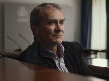 Fernando Simón siendo entrevistado por Jordi Évole