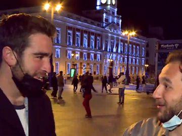 Turistas franceses en Madrid