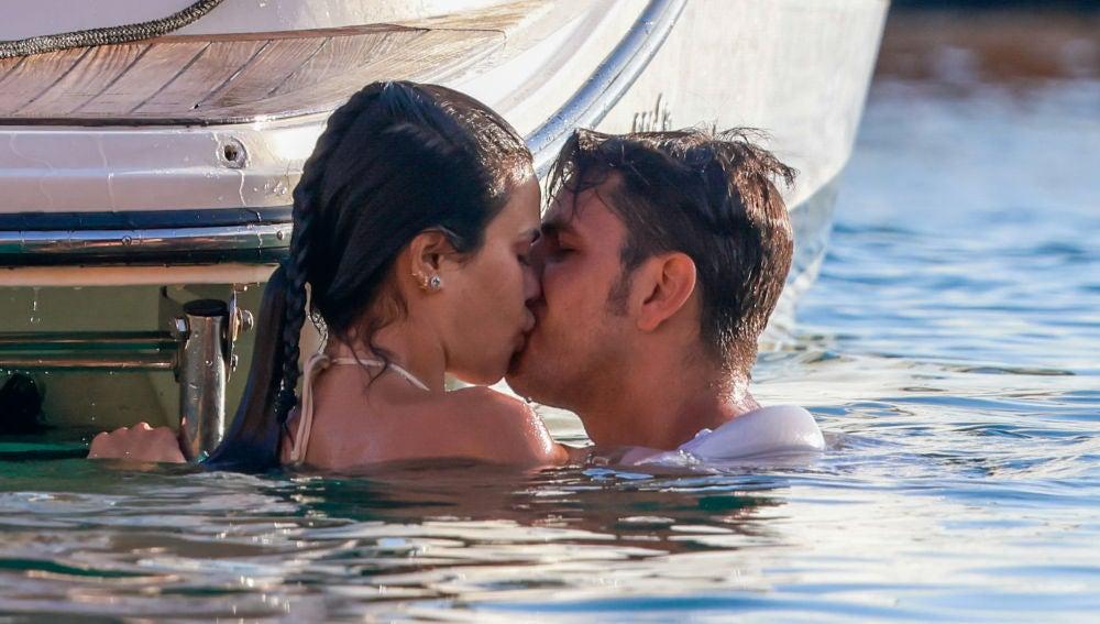 Carla Barber y Diego Matamoros derrochando pasión