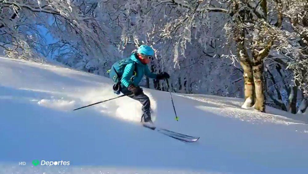 La superación de Isabel Armendáriz para subir al podio tras sufrir un grave accidente de esquí y ser atropellada por una furgoneta